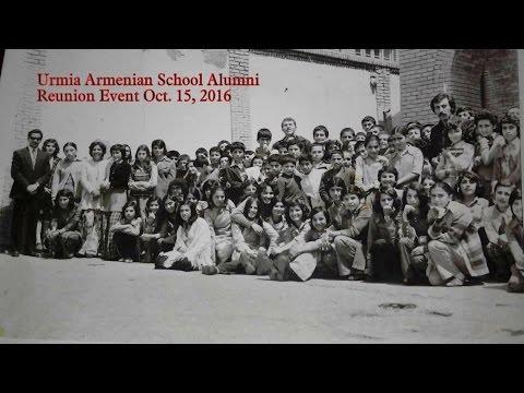 Urmia Armenian School Alumni Reunion . Oct.15 ,2016 - Glendale California
