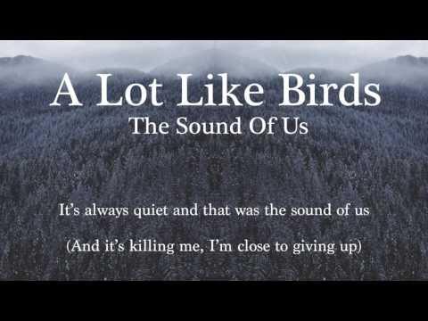 A Lot Like Birds - The Sound Of Us / Lyric Video