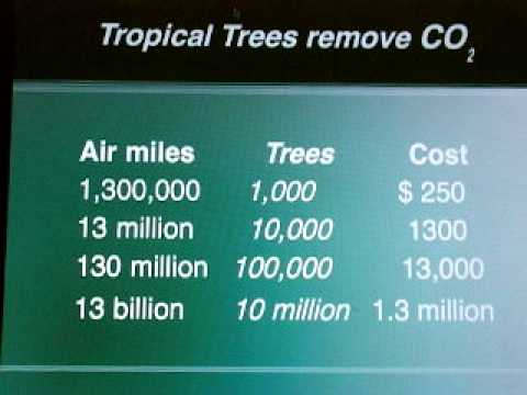 Green Marketing with Trees   -- Global Cooling Businesses