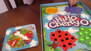 07- We play the Hi Ho Cherry O! board game! Game Review and Full Playthrough