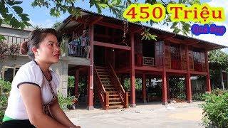 Khám phá ngôi nhà sàn bê tông của người Thái | Chỉ 450 triệu có ngôi nhà sàn đẹp