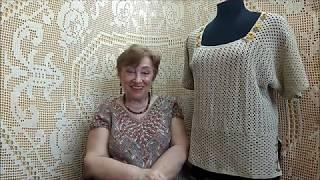 """Блузон """"Мария"""". Мастер-класс по вязанию крючком от О. С. Литвиной."""