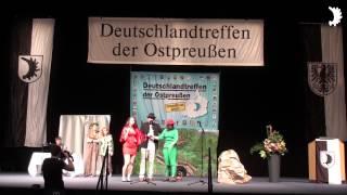 Theaterstück: Rotkäppchen sucht einen Prinzen - Deutschlandtreffen der Ostpreußen 2014