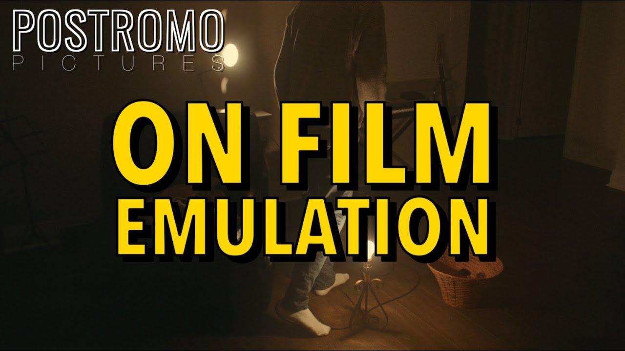 On Film Emulation