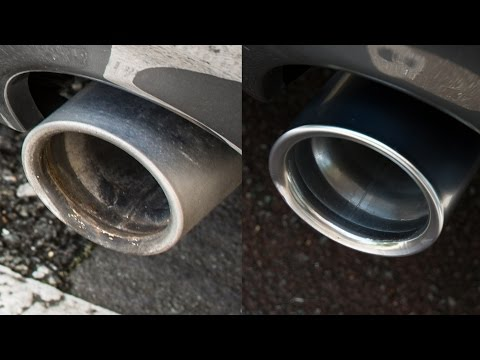 How To: Making your exhaust look brand new!