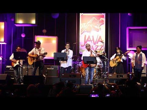Tampil di Java Jazz 2018, Grup Musik Elek Yo Band Bawakan Lagu  Anji Hingga Slank