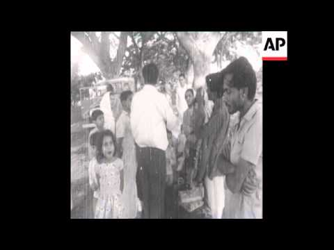 SYND23/04/71 THE ARMY HELPS EAST PAKISTAN FAMILIES