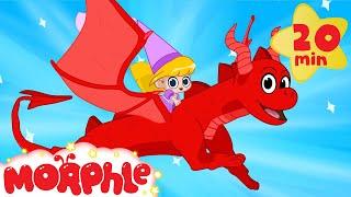 Princess and her magic pet dragon Morphle! Cartoons for Kids With Superhero Morphle + Princess Mila