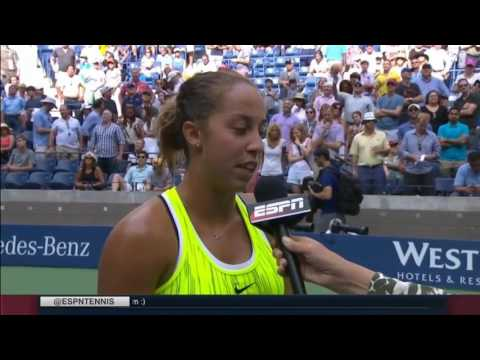US OPEN 2016   Madison Keys d  Naomi Osaka   Post Match INTERVIEW