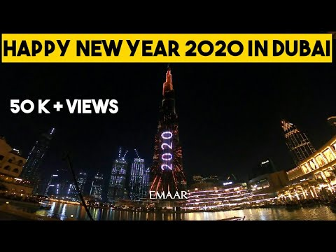 EmaarNYE2020 | Downtown Dubai | Happy New year 2020 |  Dubai burj khalifa |