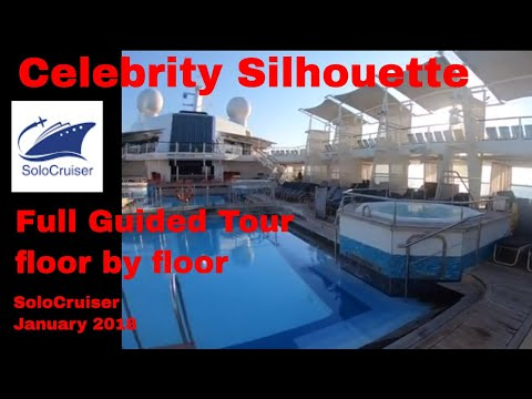 Celebrity Silhouette Full Ship Guided Tour