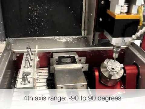 Sneak Peak Video Of 5th Axis CNC Machine -Levil