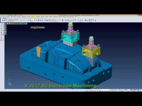 VISI 2017 R2  Обработка электродов