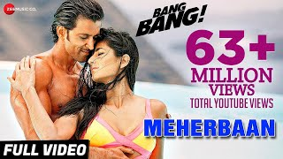 Meherbaan Full Video | BANG BANG! | feat Hrithik Roshan & Katrina Kaif | Vishal Shekhar Mp3