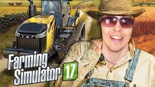 O DIA EM QUE FUI FAZENDEIRO | Farming Simulator 17 (PC Gameplay PT-BR Português)