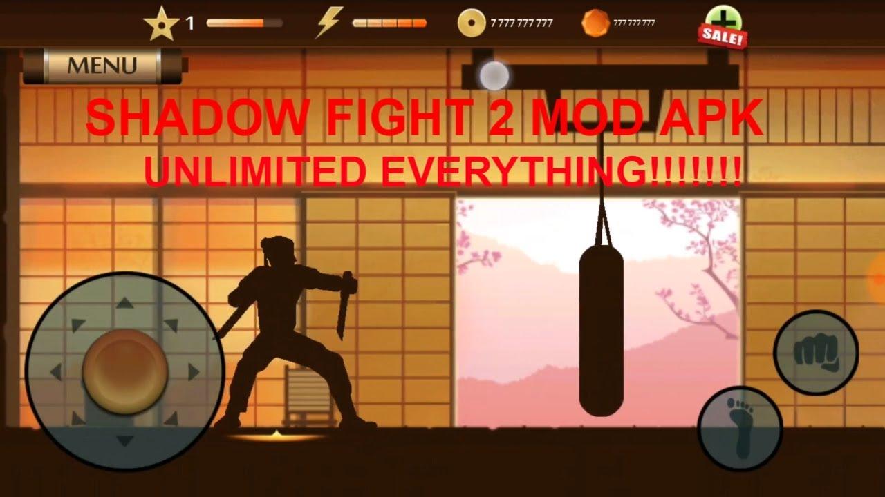 shadow fight 2 взломанный apk