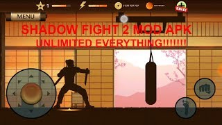 SHADOW FIGHT 2 MOD APK (UNLIMITED EVERYTHING)