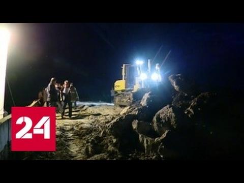 Авария на дамбе на Кубани: угроза для жителей миновала