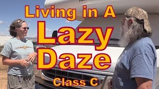 jeannie living in a lazy daze class c rv