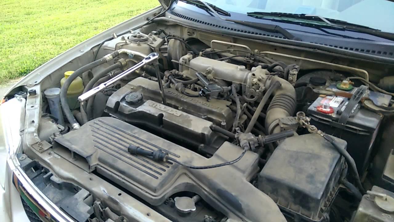 1999 Mazda Protege 16L engine Spark Plug and Spark Plug
