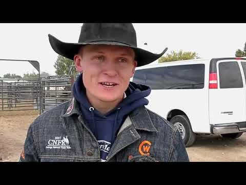 Central Wyoming College Cowboy Brady Thurston