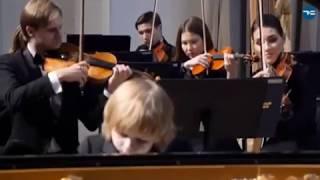 Елисей Мысин И.Бах Концерт фа-минор 2 и 3 часть