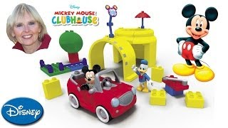 ♥♥ Mega Bloks Mickey Mouse Clubhouse Mickey's Garage