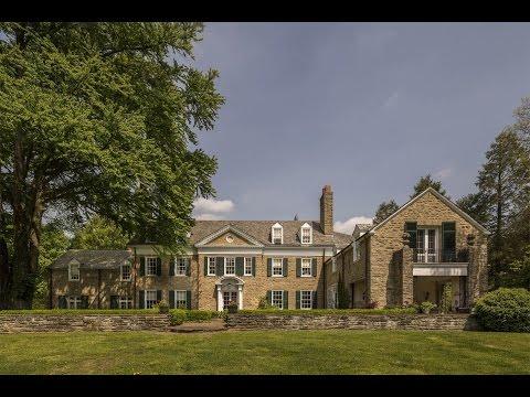 Timeless Classic Estate in Gladwyne, Pennsylvania