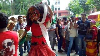 Lakhe Dance Godawari Lalitpur Nepal it also Kathmandu / Bhaktapur