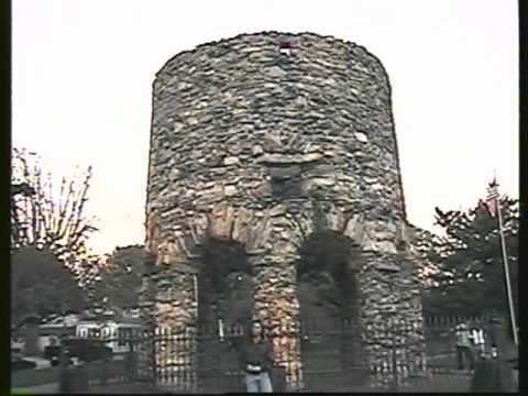 Old Stone Mill Newport Tower In Rhode Island