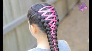 Corset Braid | Hairstyles for Girls | Braided Hairstyles | Chikas Chic