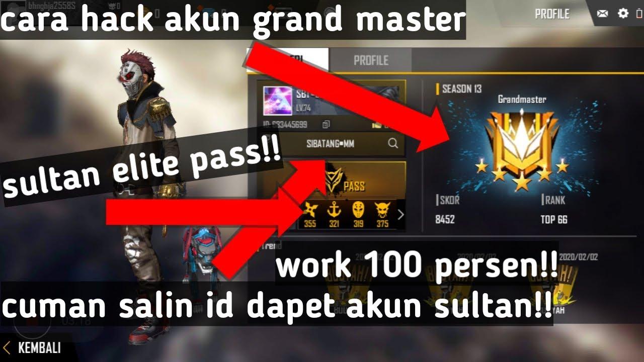 Cara Hack Atau Mengambil Akun Ff Milik Orang Sultan Work 100 Youtube