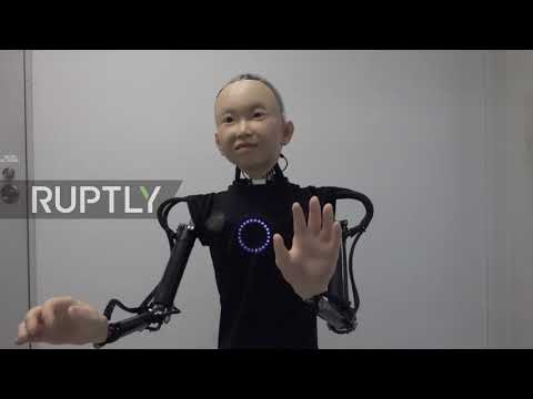 It鈥檚 child鈥檚 play! Osaka professor invents a life-like robo-kid
