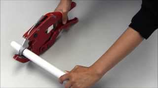 How to Use PVC Pipe Cutters