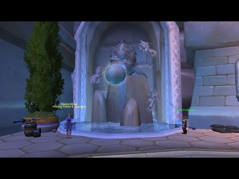 World Of Warcraft The Dalaran Fountain Fishing Legion Quest Guide