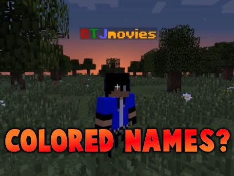 how to change name color in minecraft vanilla