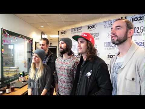 Youngblood Hawke  Music & Interview: In the CD1025 Big Room with Express Rocks