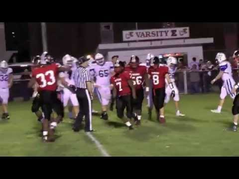 Easton High School Football vs Nazareth HS Big W 56-41 Highlights 11-6-2015