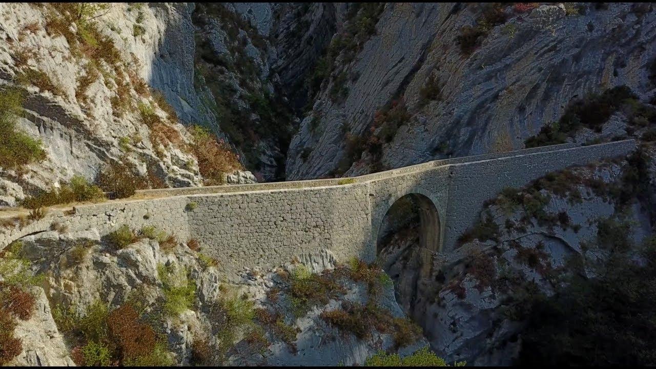 BMW R80GS - Pont du Riolan - Magique !
