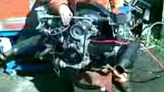 2180cc Stroker Trike Engine, V-Dub Shoppe Built, Dyno