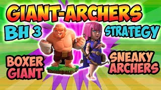 BH-3 ATTACK STRATEGY | BOXER GIANT | CLASH OF CLANS