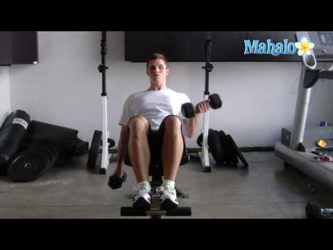 How To Do Incline Dumbbell Bicep Curls