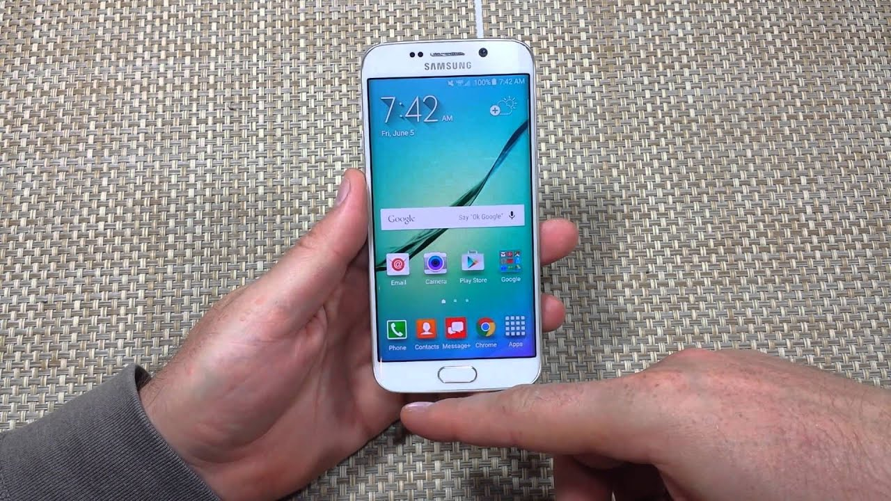 Samsung Galaxy S6 Edge How To Close All Your Recent Apps Background Or Open