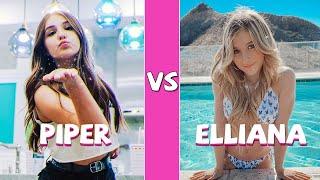 Piper Rockelle Vs Elliana Walmsley Tiktok Dance Battle MP3