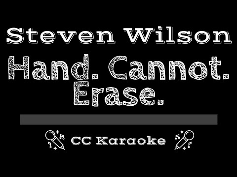 Steven Wilson   Hand Cannot Erase CC Karaoke Instrumental