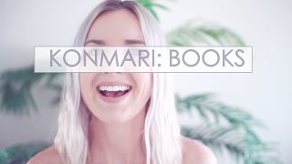 Konmari Tidying Journey | Books and Paper