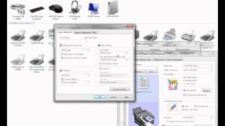 how to add a printer using tcp ip and configure the conde icc profile