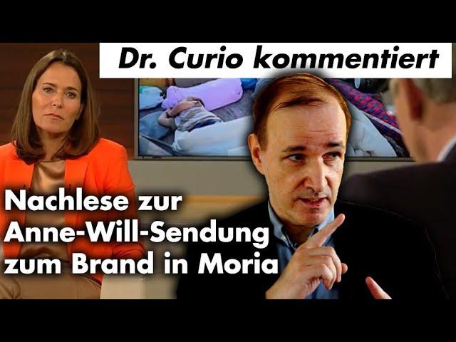 Dr. Curio kommentiert Anne-Will-Sendung zum Brand in Moria mit Annalena Baerbock und Manfred Weber