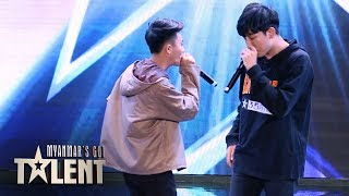 Kreem: Auditions | Myanmar's Got Talent 2019
