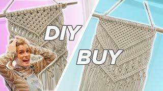 Diy Or Buy: Woven Wall Art